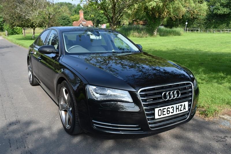 used Audi A8 TDI QUATTRO SE EXECUTIVE used cars in aldershot-hampshire