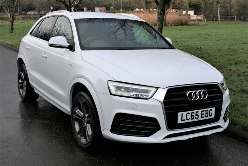 used Audi Q3 TDI S LINE in aldershot-hampshire