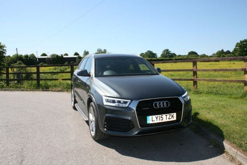 used Audi Q3 TDI QUATTRO S LINE PLUS in aldershot-hampshire