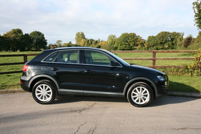 used Audi Q3 TDI QUATTRO SE S-TRONIC in aldershot-hampshire
