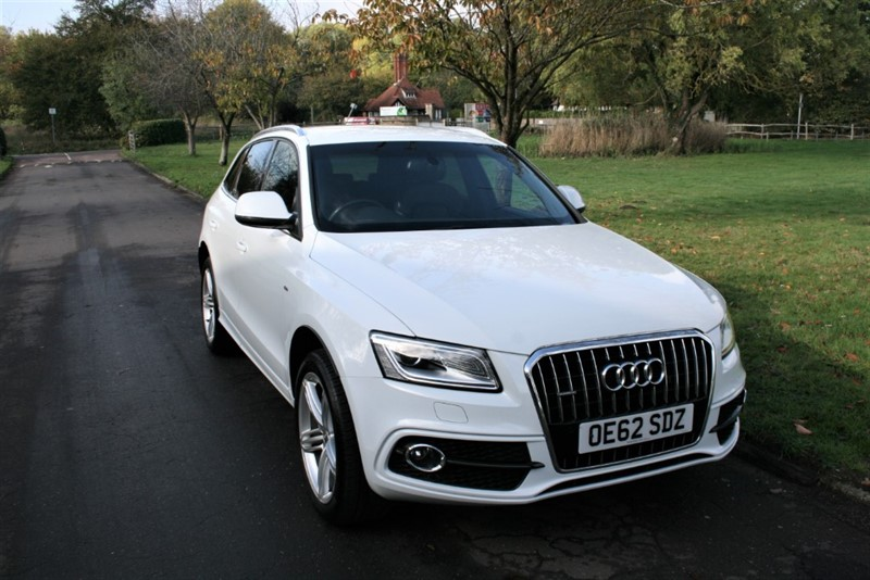 used Audi Q5 TDI QUATTRO S LINE PLUS in aldershot-hampshire