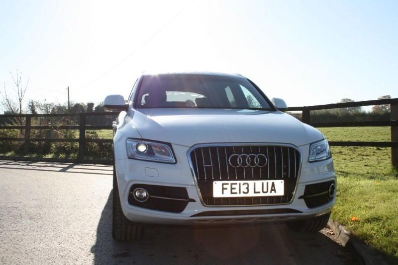 used Audi Q5 TDI QUATTRO S LINE PLUS in aldershot-hampshire