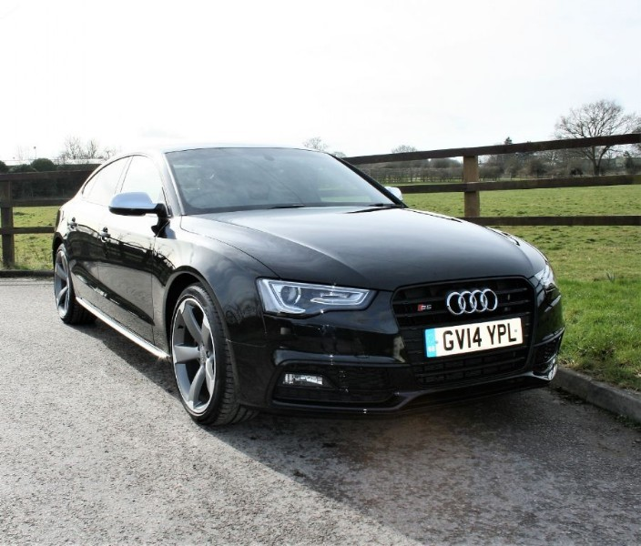 used Audi S5 S5 SPORTBACK TFSI QUATTRO BLACK EDITION in aldershot-hampshire