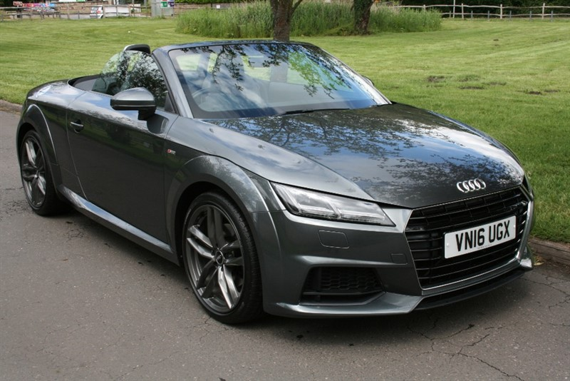 used Audi TT TDI ULTRA S LINE in aldershot-hampshire
