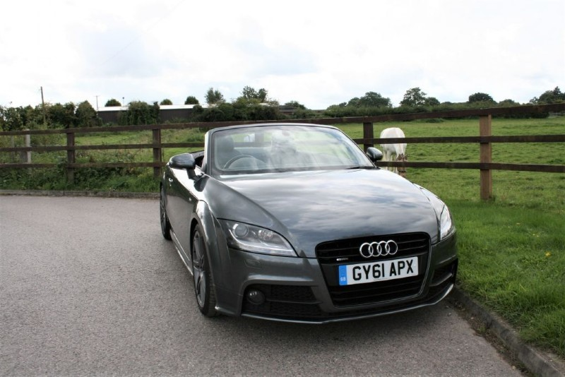 used Audi TT TFSI QUATTRO S LINE BLACK EDITION in aldershot-hampshire