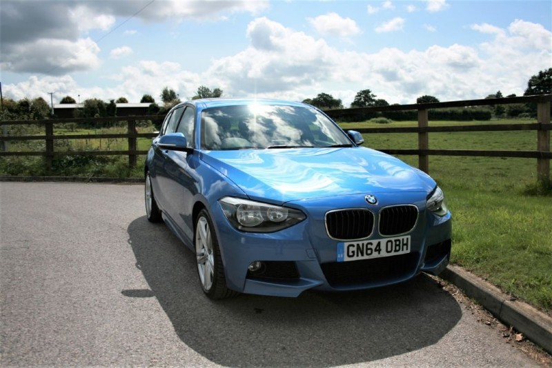 used BMW 116d M SPORT (ROOF/AUTO/NAV + MANY MORE EXTRAS) in aldershot-hampshire