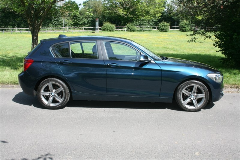 used BMW 116d SPORT in aldershot-hampshire