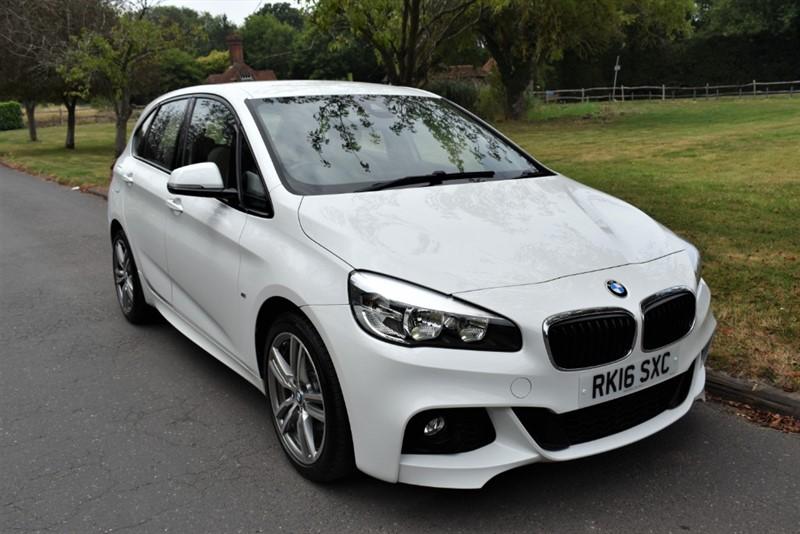 used BMW 218d M SPORT ACTIVE TOURER used cars in aldershot-hampshire
