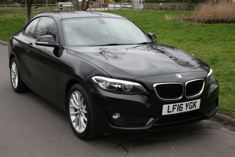 used BMW 218i SE SAT NAV in aldershot-hampshire