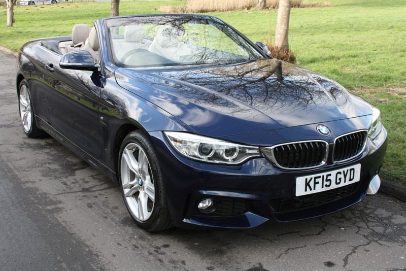 used BMW 420i M SPORT in aldershot-hampshire