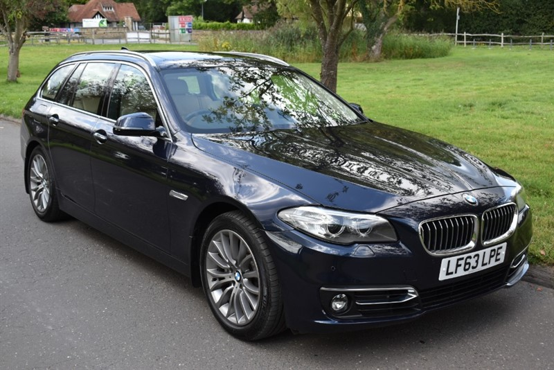 used BMW 530d LUXURY TOURING in aldershot-hampshire