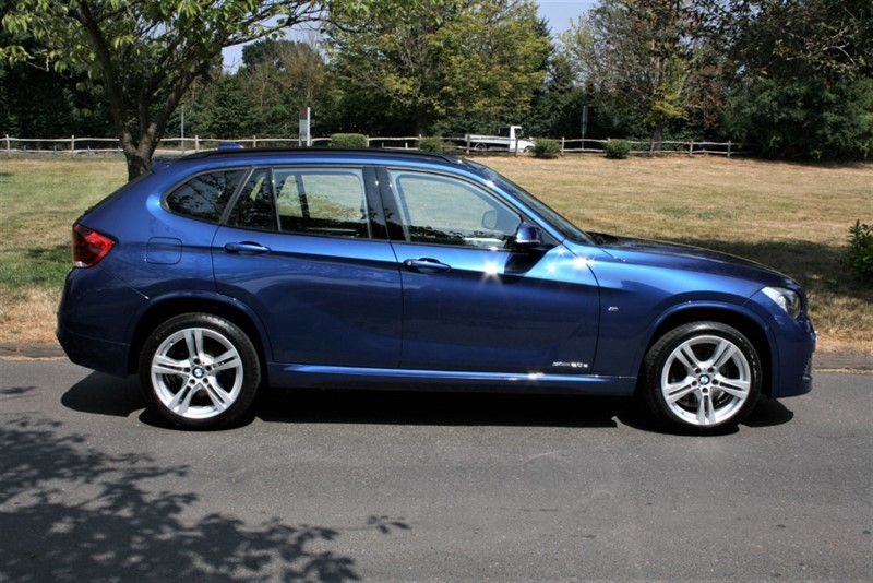 used BMW X1 SDRIVE20D M SPORT in aldershot-hampshire