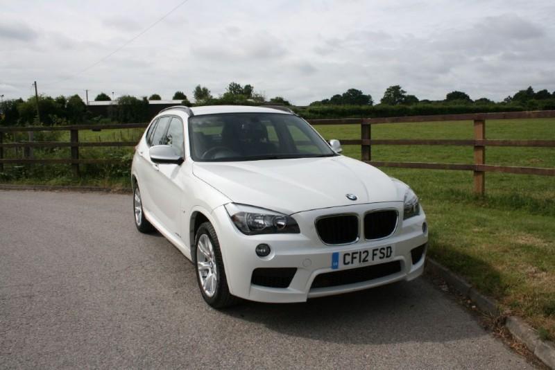 used BMW X1 XDRIVE18D M SPORT in aldershot-hampshire