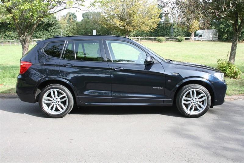 used BMW X3 XDRIVE20D M SPORT in aldershot-hampshire