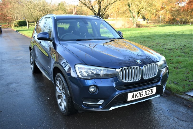 used BMW X3 XDRIVE20D XLINE in aldershot-hampshire