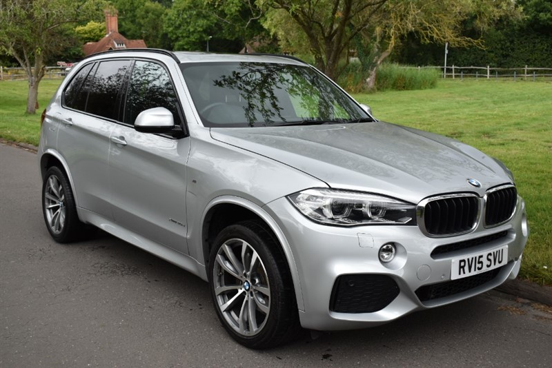used BMW X5 XDRIVE30D M SPORT(7 SEATS/PANORAMIC ROOF) in aldershot-hampshire