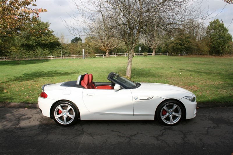 used BMW Z4 SDRIVE18I M SPORT ROADSTER in aldershot-hampshire
