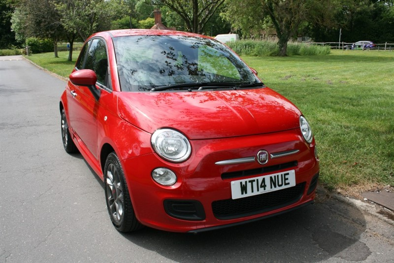 used Fiat 500 S in aldershot-hampshire