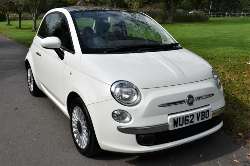 used Fiat 500 LOUNGE used cars in aldershot-hampshire
