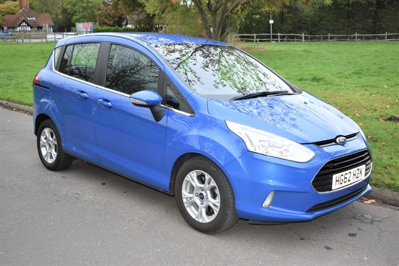 used Ford B-Max ZETEC in aldershot-hampshire