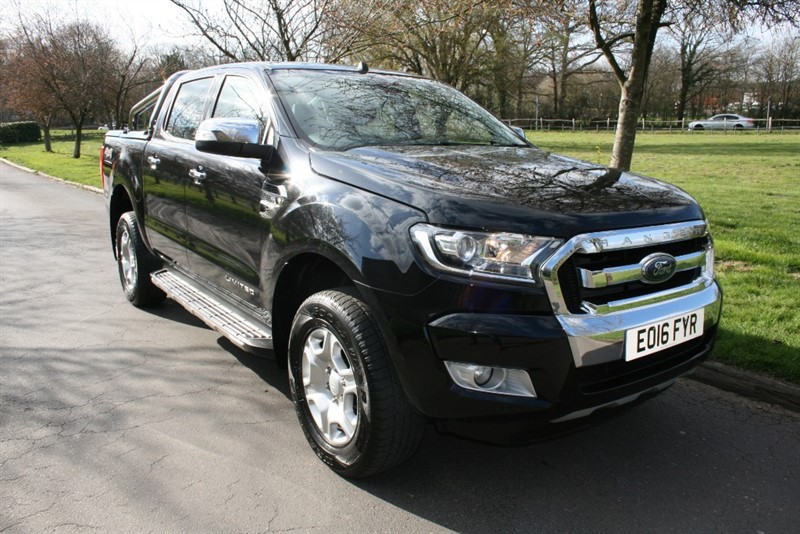 used Ford Ranger LIMITED 4X4 DCB TDCI in aldershot-hampshire
