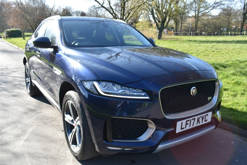 used Jaguar F-Pace V6 S AWD in aldershot-hampshire