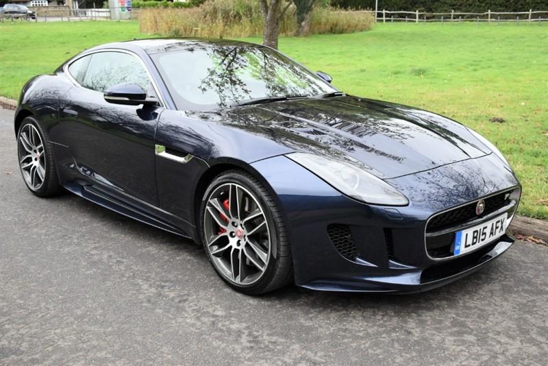 used Jaguar F-Type V8 R AWD in aldershot-hampshire