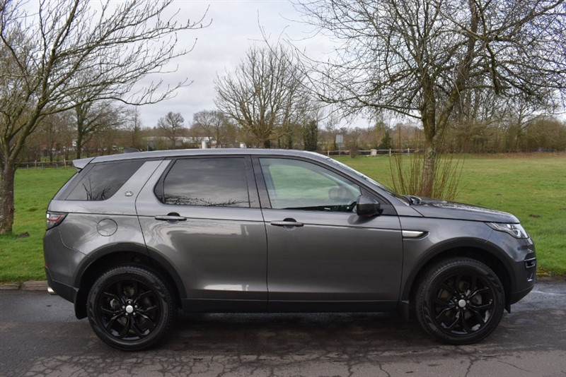 used Land Rover Discovery Sport TD4 HSE in aldershot-hampshire