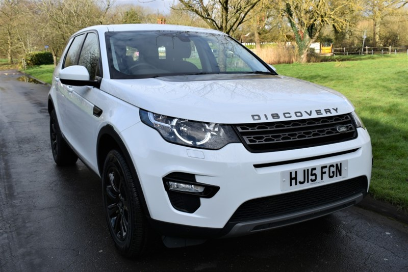 used Land Rover Discovery Sport SD4 SE TECH in aldershot-hampshire