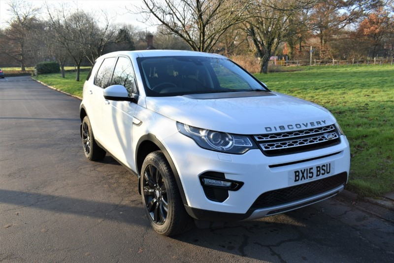 used Land Rover Discovery Sport SD4 HSE in aldershot-hampshire