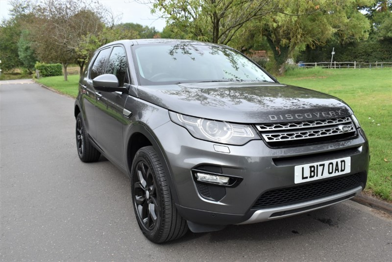 used Land Rover Discovery Sport TD4 HSE used cars in aldershot-hampshire