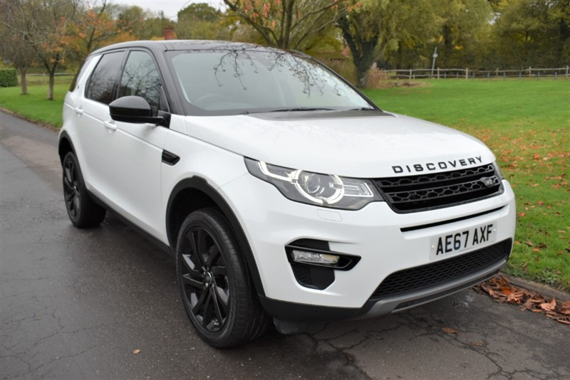 used Land Rover Discovery Sport TD4 HSE BLACK used cars in aldershot-hampshire