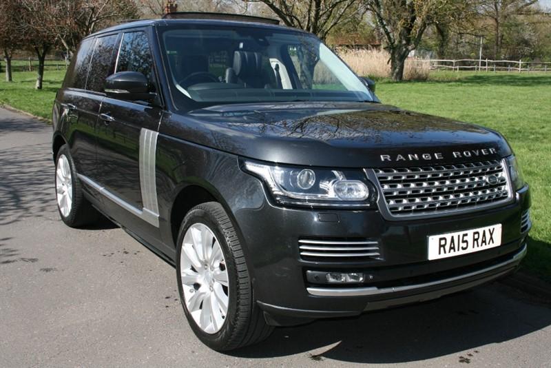 used Land Rover Range Rover SDV8 AUTOBIOGRAPHY in aldershot-hampshire
