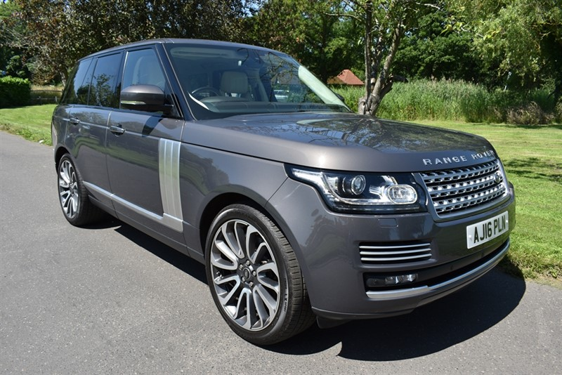 used Land Rover Range Rover SDV8 AUTOBIOGRAPHY used cars in aldershot-hampshire