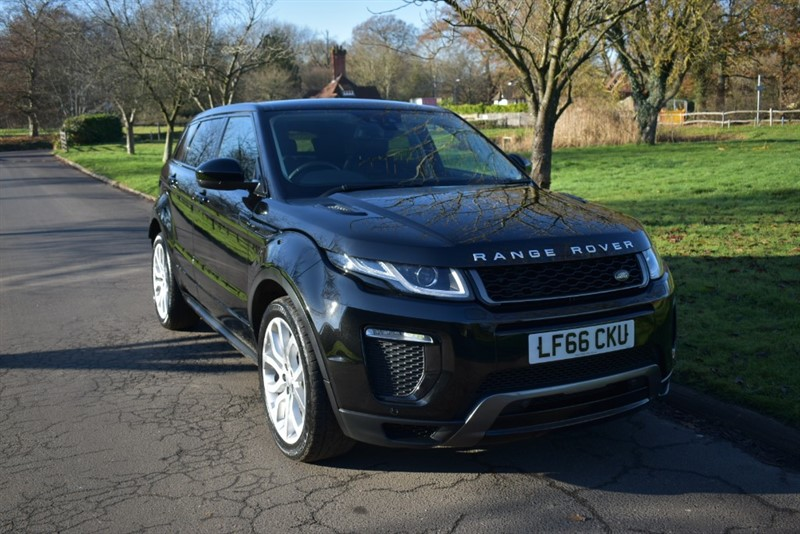 used Land Rover Range Rover Evoque TD4 HSE DYNAMIC in aldershot-hampshire