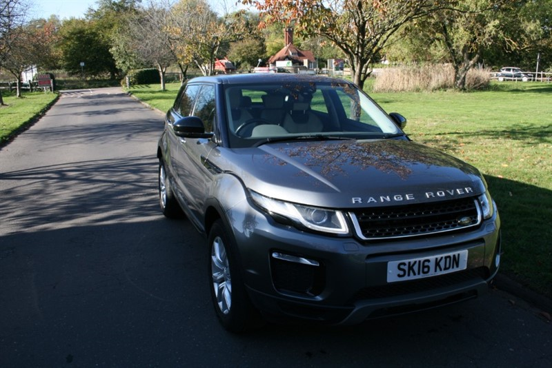 used Land Rover Range Rover Evoque TD4 SE TECH in aldershot-hampshire