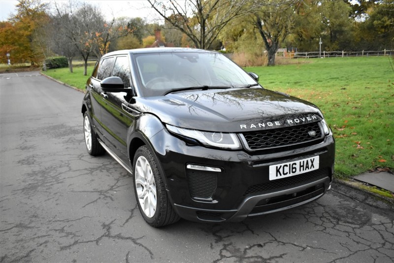 used Land Rover Range Rover Evoque TD4 HSE DYNAMIC LUX in aldershot-hampshire