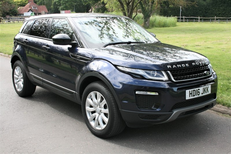 used Land Rover Range Rover Evoque TD4 SE TECH in aldershot-hampshire
