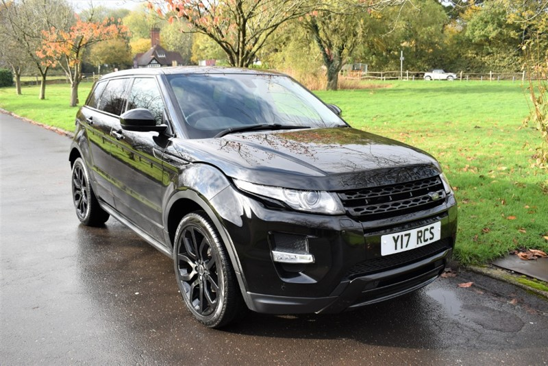 used Land Rover Range Rover Evoque SD4 DYNAMIC in aldershot-hampshire