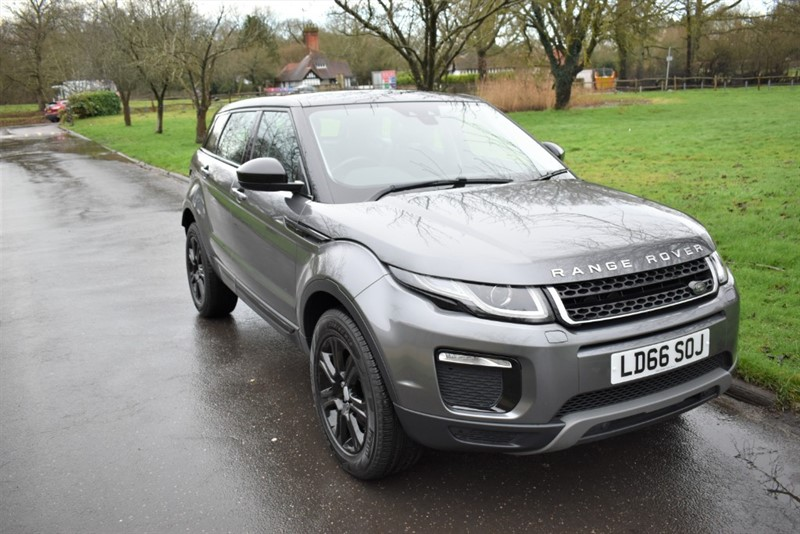 used Land Rover Range Rover Evoque TD4 SE TECH PANO ROOF in aldershot-hampshire