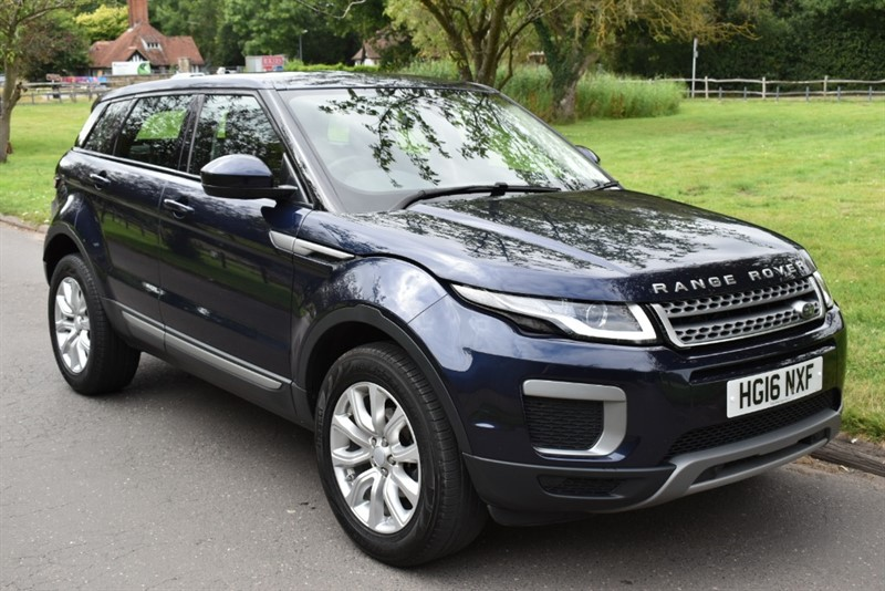 used Land Rover Range Rover Evoque ED4 SE SAT NAV LEATHER in aldershot-hampshire
