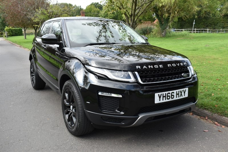 used Land Rover Range Rover Evoque TD4 SE TECH used cars in aldershot-hampshire
