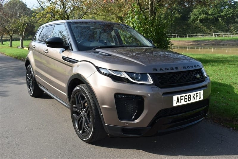 used Land Rover Range Rover Evoque TD4 HSE DYNAMIC used cars in aldershot-hampshire