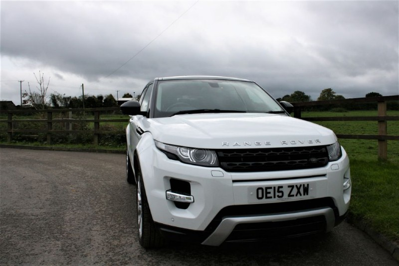 used Land Rover Range Rover Evoque SD4 DYNAMIC LUX (PANO ROOF, REV CAMERA,MANY MORE) in aldershot-hampshire