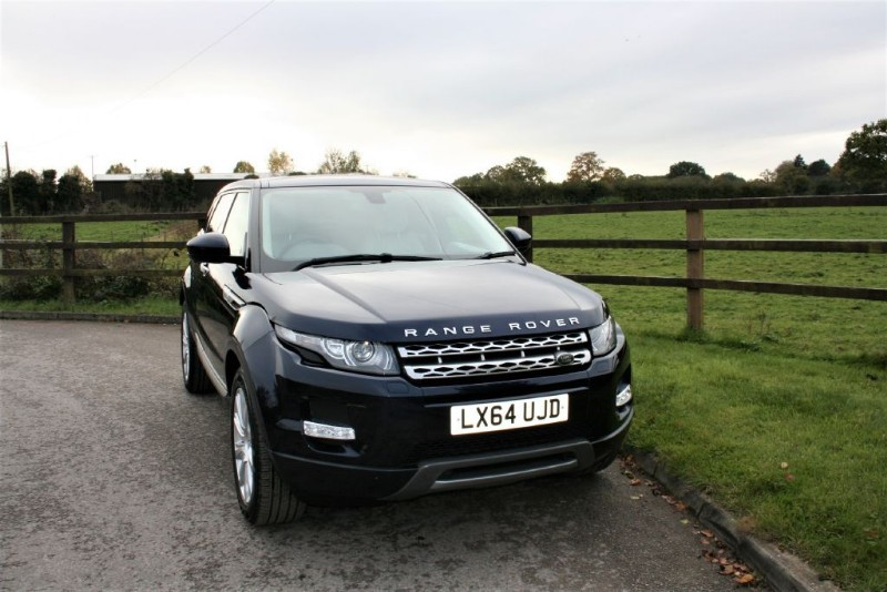used Land Rover Range Rover Evoque SD4 PRESTIGE LUX in aldershot-hampshire