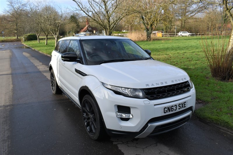 used Land Rover Range Rover Evoque SD4 DYNAMIC LUX in aldershot-hampshire