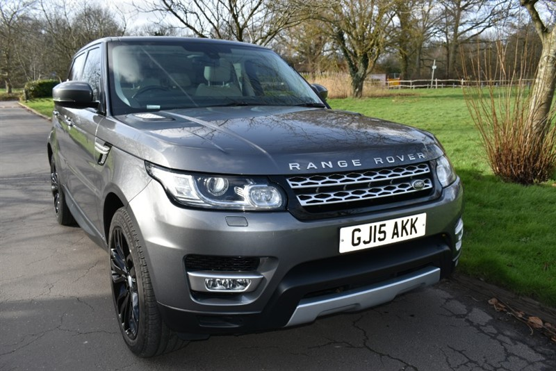 used Land Rover Range Rover Sport SDV6 HSE used cars in aldershot-hampshire