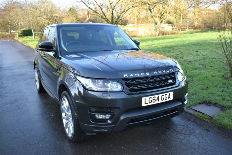 used Land Rover Range Rover Sport SDV6 HSE DYNAMIC in aldershot-hampshire