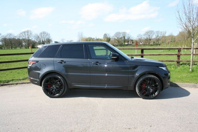used Land Rover Range Rover Sport V8 5.0 SUPERCHARGED AUTOBIOGRAPHY DYNAMIC in aldershot-hampshire