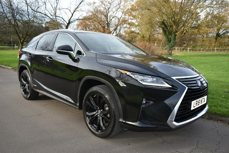 used Lexus RX 450H SPORT used cars in aldershot-hampshire